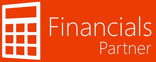office 365 financials partner logo